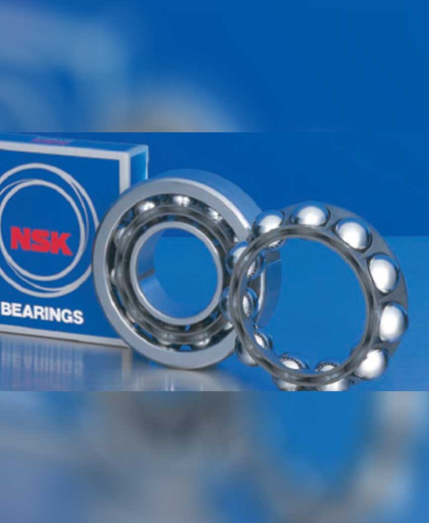 New40 angularc contact ball bearings